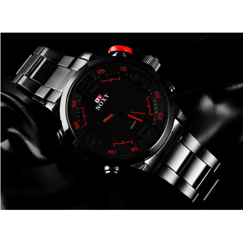 Relógio Soxy Masculino  Preto